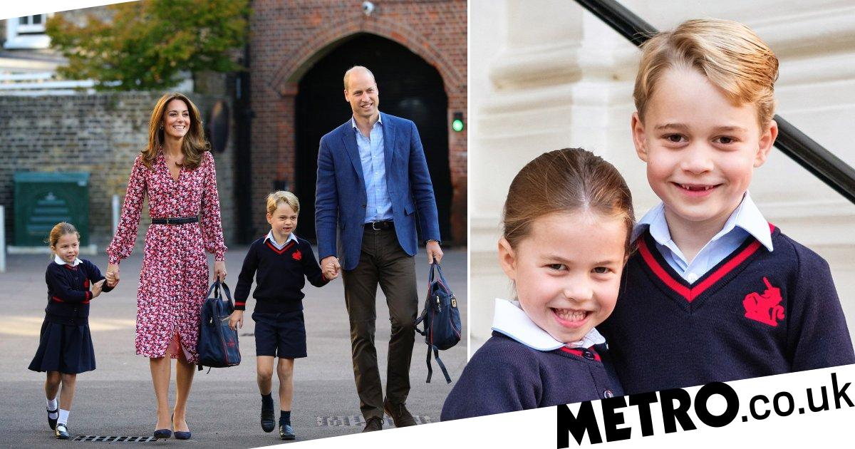 Prince George and Princess Charlotte's school hit by coronavirus fears