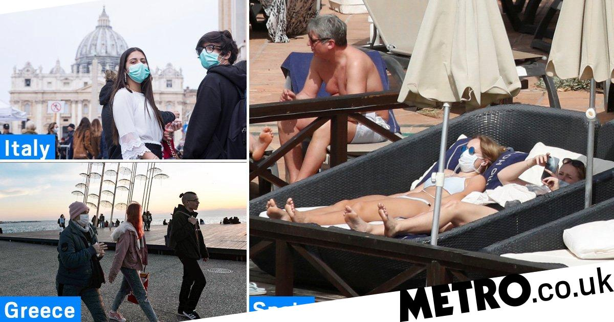 Holiday plans at risk after spread of coronavirus in Europe