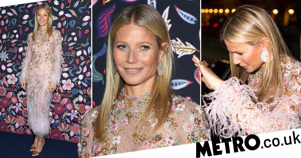 Gwyneth Paltrow leads Harper's Bazaar exhibition despite coronavirus fear