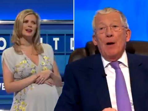 Rachel Riley baffled as Countdown's Nick Hewer shares bizarre story of 'pretending to be in a wheelchair'