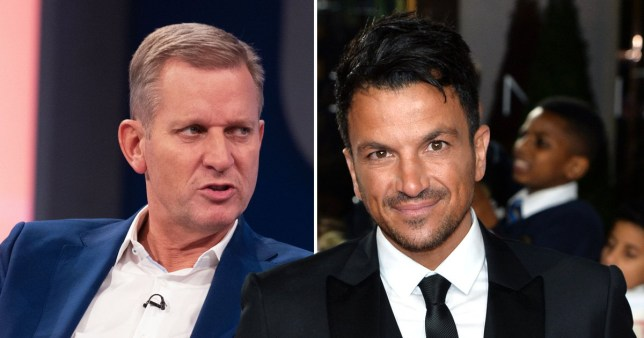 peter andre and jeremy kyle