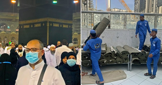 Mecca's Grand Mosque sterilised as coronavirus crisis threatens Hajj pilgrimage