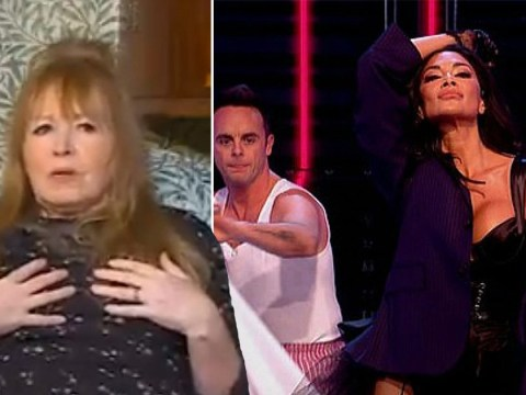Gogglebox's Mary compares Nicole Scherzinger's boobs to a bum during Pussycat Dolls performance