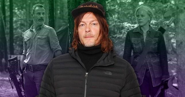 Norman Reedus, Rick Grimes, Carol The Walking Dead