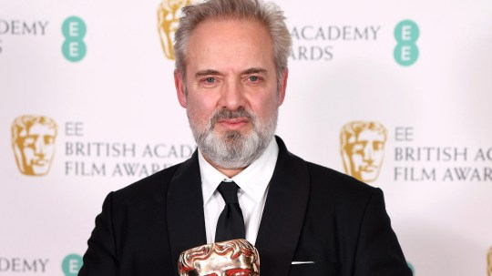 Sam Mendes attends Baftas red carpet