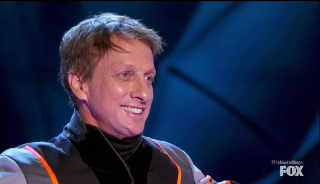The Masked Singer's Tony Hawk