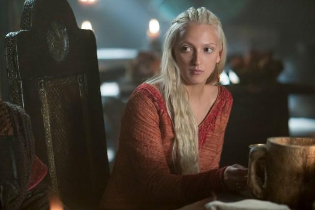 Vikings star Georgia Hirst as Torvi
