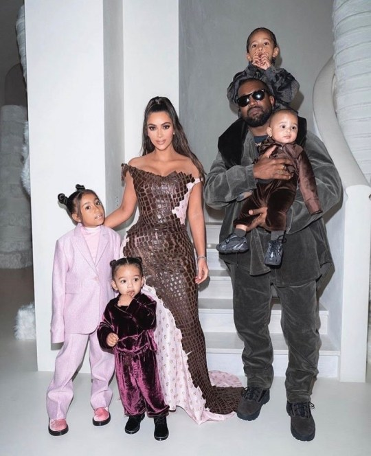 BGUK_1835827 - Various, UNITED KINGDOM - Celebrity social media photos! Pictured: Kim Kardashian, Kanye West, North West, Saint West, Chicago West BACKGRID UK 3 JANUARY 2020 *BACKGRID DOES NOT CLAIM ANY COPYRIGHT OR LICENSE IN THE ATTACHED MATERIAL. ANY DOWNLOADING FEES CHARGED BY BACKGRID ARE FOR BACKGRID'S SERVICES ONLY, AND DO NOT, NOR ARE THEY INTENDED TO, CONVEY TO THE USER ANY COPYRIGHT OR LICENSE IN THE MATERIAL. BY PUBLISHING THIS MATERIAL , THE USER EXPRESSLY AGREES TO INDEMNIFY AND TO HOLD BACKGRID HARMLESS FROM ANY CLAIMS, DEMANDS, OR CAUSES OF ACTION ARISING OUT OF OR CONNECTED IN ANY WAY WITH USER'S PUBLICATION OF THE MATERIAL* UK: +44 208 344 2007 / uksales@backgrid.com USA: +1 310 798 9111 / usasales@backgrid.com *UK Clients - Pictures Containing Children Please Pixelate Face Prior To Publication*