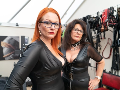 Dominatrix gran, 68, is now teaching other women the art of financial domination