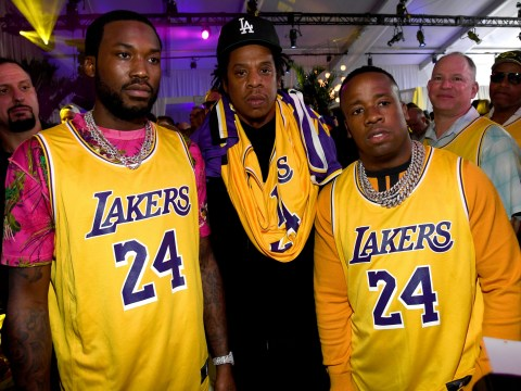 Jay Z wears Kobe Bryant jersey at Super Bowl party after Beyonce's tribute to LA Lakers star