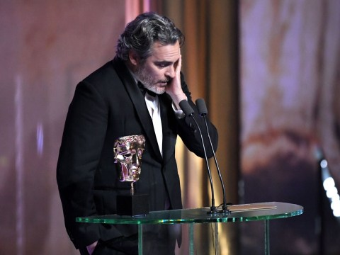 Joaquin Phoenix calls out systemic racism in Baftas speech: 'I'm ashamed to be part of the problem'