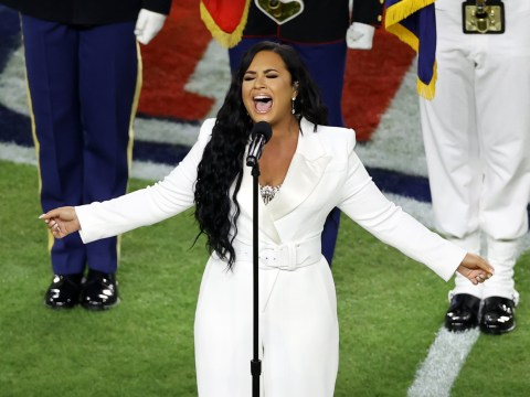 Super Bowl 2020: Demi Lovato's stunning national anthem performance praised as 'best since Whitney Houston'