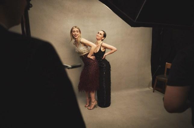 Emilia Clarke and Vanessa Kirby
