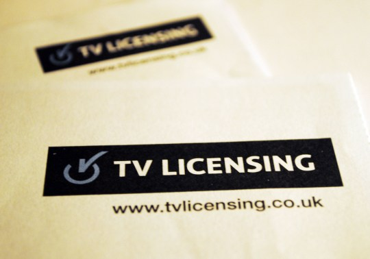 File photo dated 7/12/2012 of a TV License