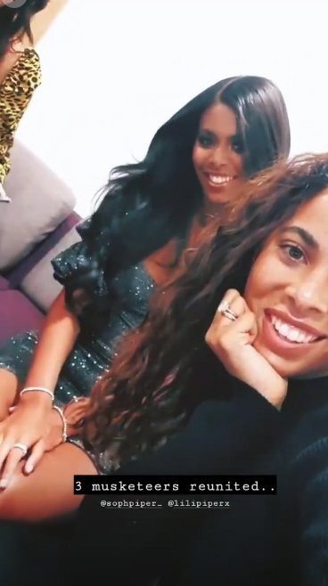 Rochelle Humes and Sophie Piper