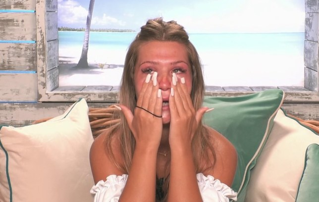 Shaughna crying, Love Island (Picture: ITV)