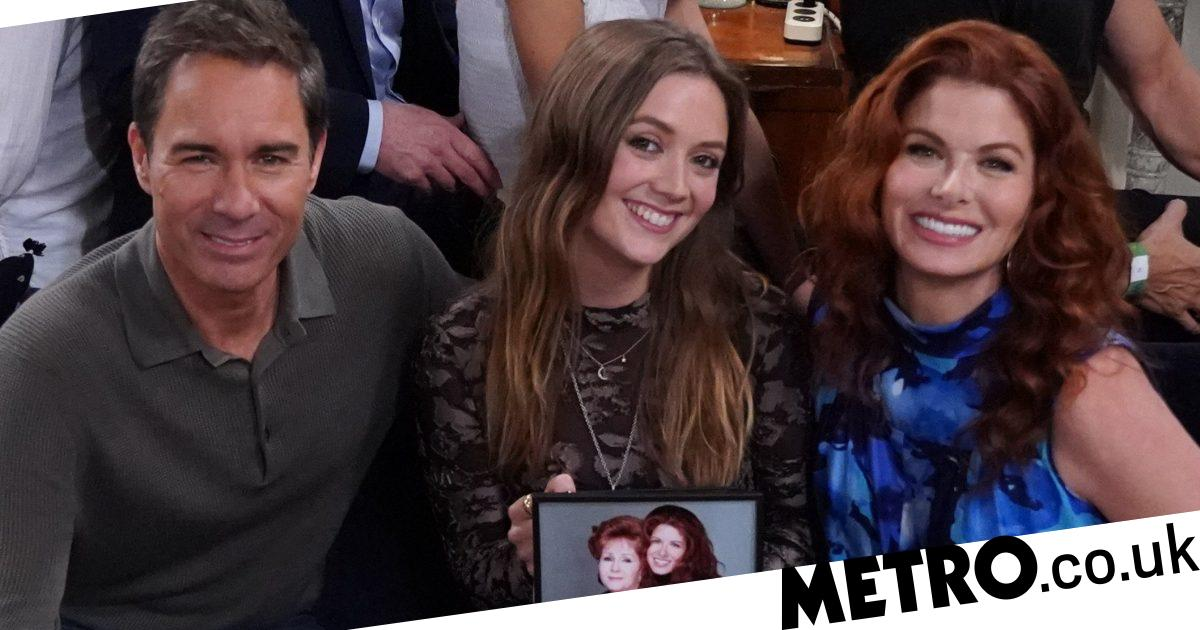 Will & Grace in meltdown as Billie Lourd plays Debbie Reynolds' granddaughter