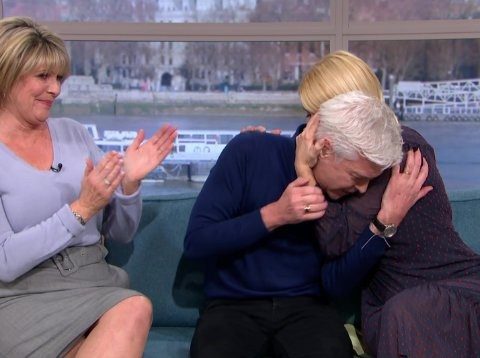 Phillip Schofield breaks down in tears on This Morning over hurting his family as he comes out as gay