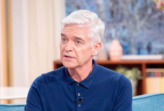 Editorial use only Mandatory Credit: Photo by S Meddle/ITV/REX (10550528v) Phillip Schofield 'This Morning' TV show, London, UK - 07 Feb 2020