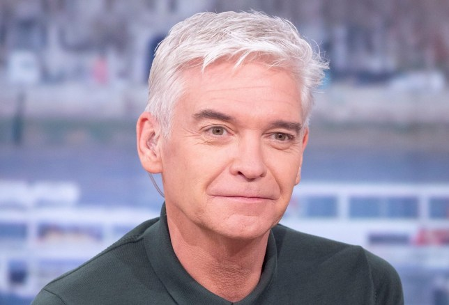 Editorial use only Mandatory Credit: Photo by Ken McKay/ITV/REX (10541312dp) Phillip Schofield 'This Morning' TV show, London, UK - 28 Jan 2020