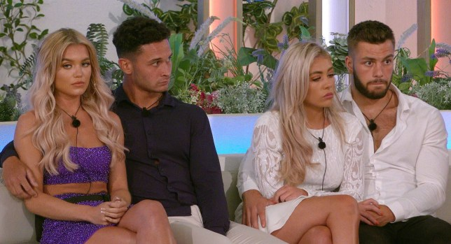 molly, callum, paige and finn from love island
