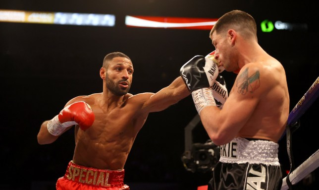 Kell Brook had far too much for Mark DeLuca
