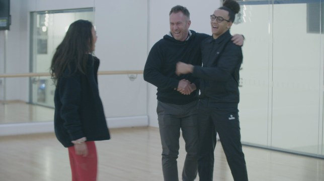 Dancing On Ice's Perri Kiely teams up with last year's winner James Jordan to jive on the ice