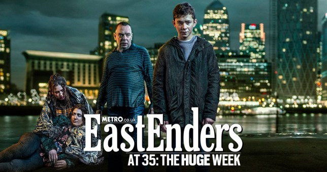 Eastenders 35th Anniversary Ian Beale Picture: BBC METRO