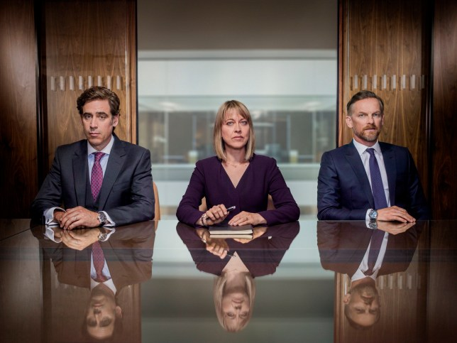 A still from season 2 of BBC One's The Split