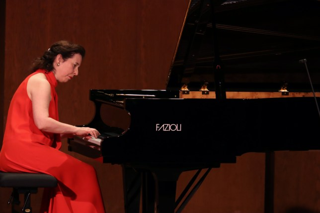 NEW YORK,NY - NOVEMBER 2: The Canadian pianist Angela Hewitt performing all-Bach program at the 92nd Street Y on November 2, 2019 in New York. (Photo by Hiroyuki Ito/Getty Images)