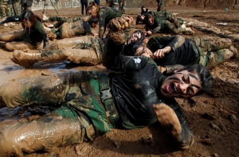 Image result for Peshmerga  ceremony