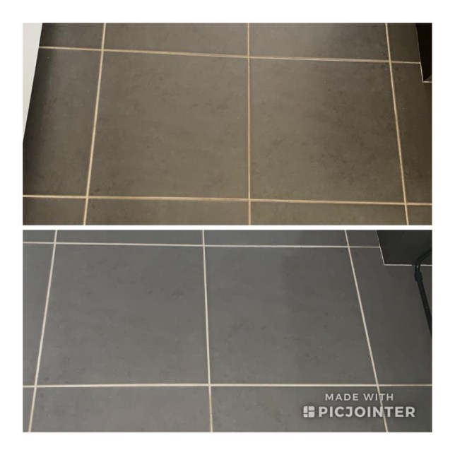 Amazing hack sees people cleaning their dirty grout with NAPISAN
