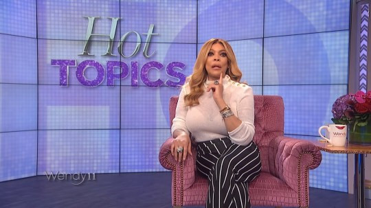 Wendy Williams says gay men should stop wearing our skirts and heels
