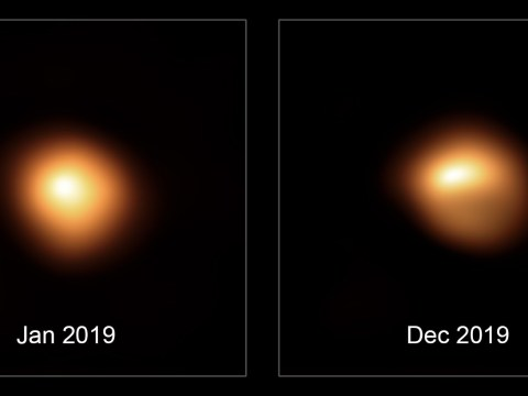 Supergiant star Betelguese may still explode as scientists record proof of it dimming and changing shape
