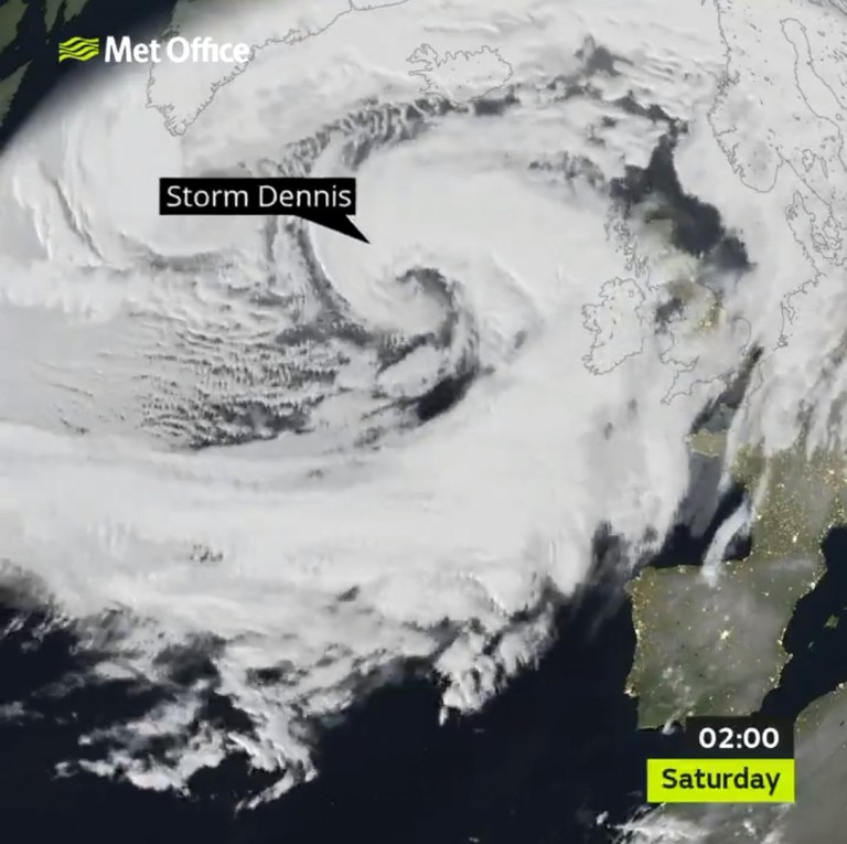 Weather - Storm Dennis