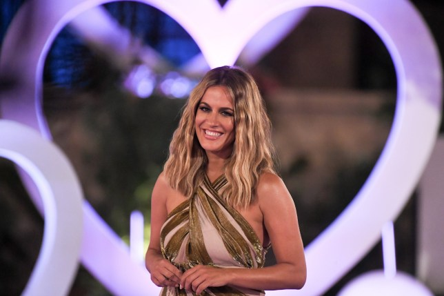 Editorial use only Mandatory Credit: Photo by James Gourley/ITV/REX (9773969df) Caroline Flack 'Love Island' TV Show, Series 4, Episode 57, The Final, Majorca, Spain - 30 Jul 2018