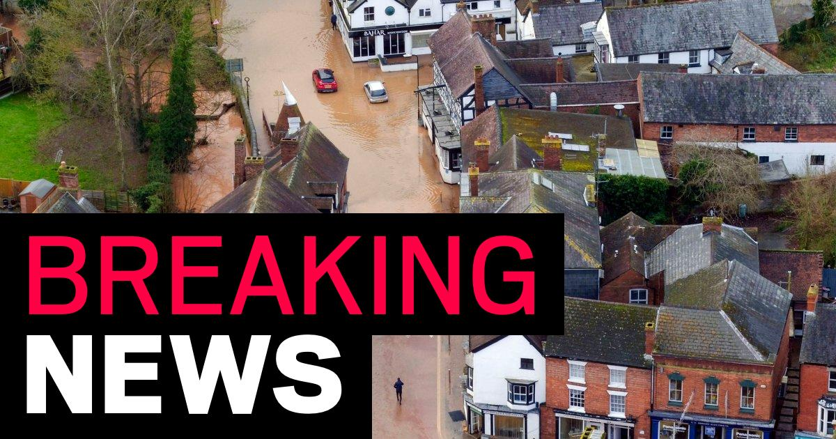Woman swept away by Storm Dennis floodwater found dead - metro