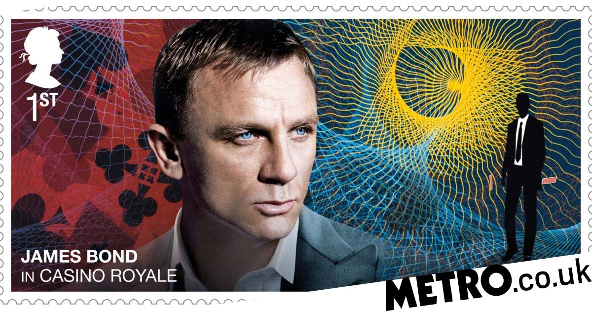 Royal Mail saves our letter-sending needs with new James Bond stamps