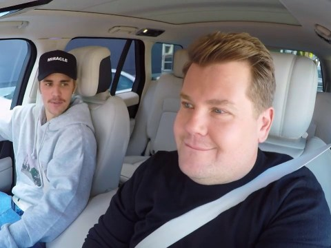 Justin Bieber's Carpool Karaoke finally reveals why James Corden didn't drive