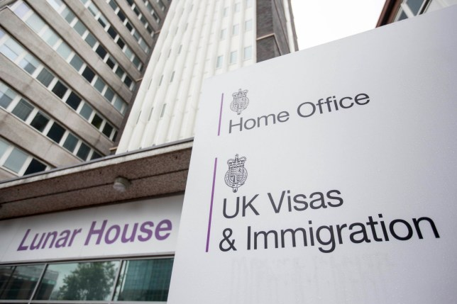 Lunar House in Croydon, south London which houses the headquarters of UK Visas and Immigration, a division of the Home Office.