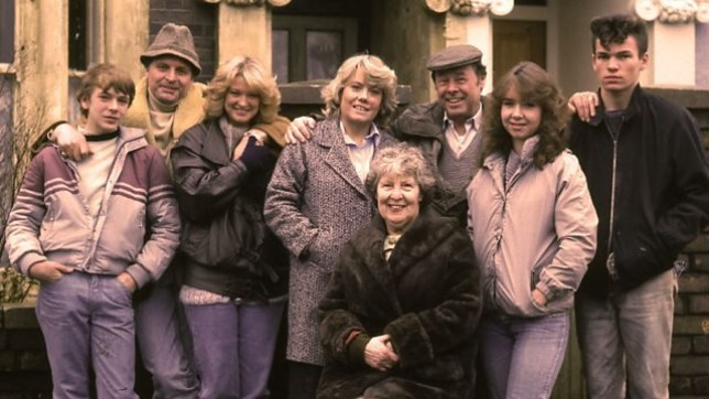 cast of original episode of eastenders