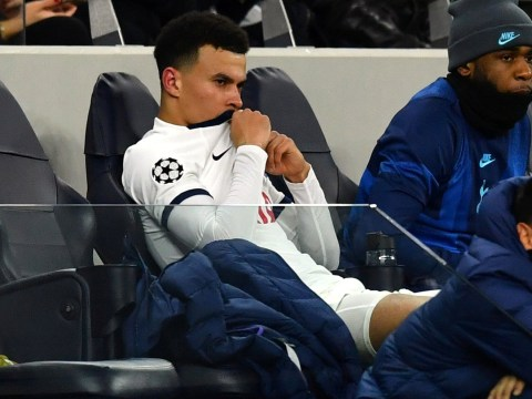 Dele Alli throws tantrum after being subbed off by Jose Mourinho in Spurs-Leipzig clash