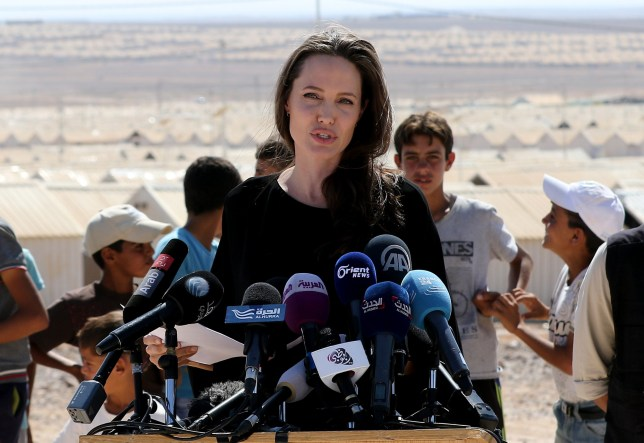 Angelina Jolie in Syria