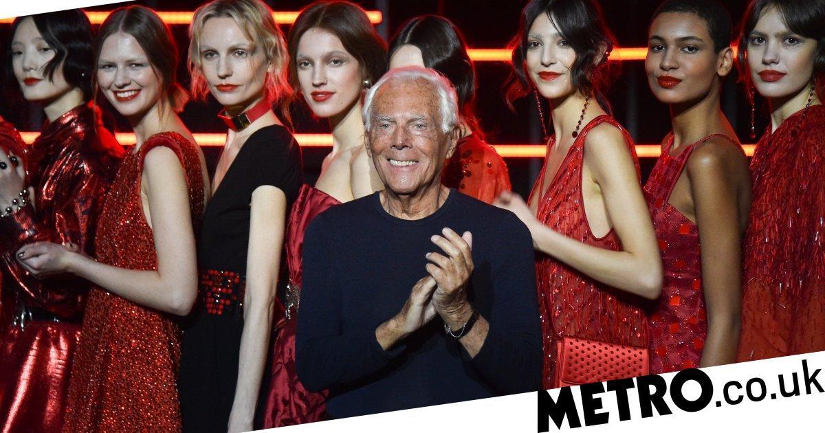 Giorgio Armani criticised for comments comparing fashion trends to rape
