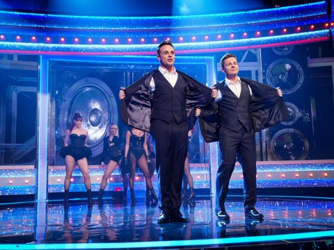What time is Saturday Night Takeaway on TV tonight and who is the guest announcer?
