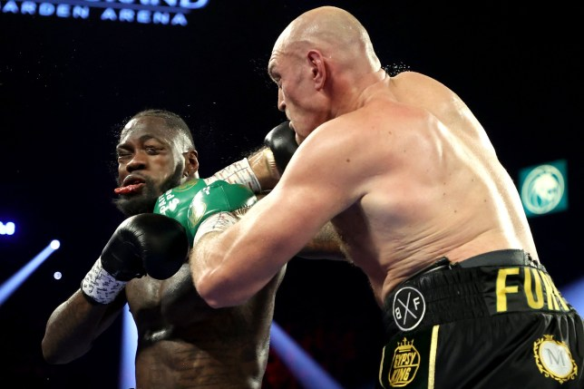 Deontay Wilder struggled in his rematch against Tyson Fury