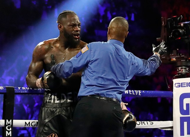 Deontay Wilder blamed Anthony Dirrell for stopping his fight against Tyson Fury