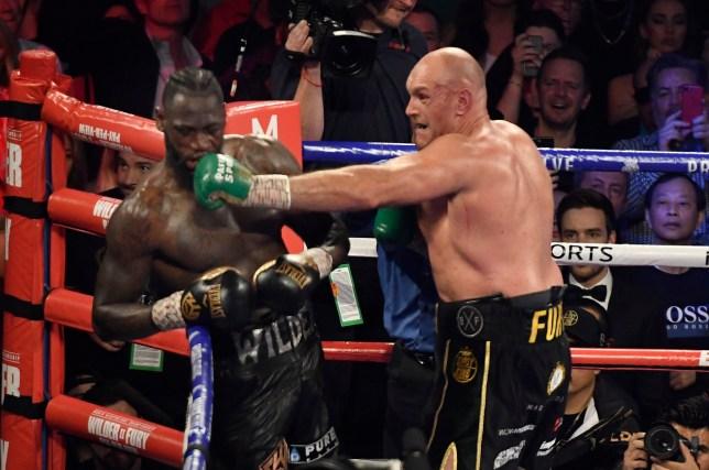 Deontay Wilder was beaten in seven rounds by Tyson Fury