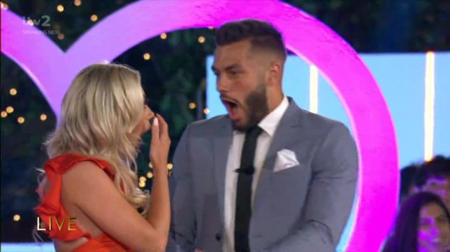 Love Island winners Piage Turley and Finley Tapp