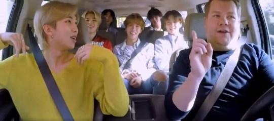 BTS Carpool Karaoke preview
